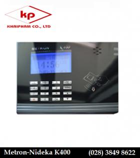 máy chấm công thẻ cảm ứng Metron K400