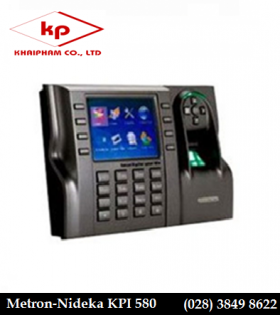 máy chấm công vân tay Metron KPI 580