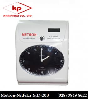 Máy chấm công thẻ giấy Metron MD20B